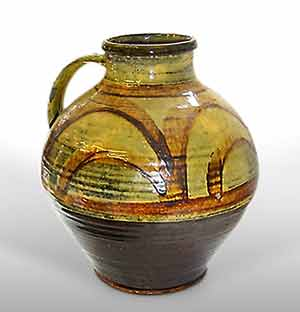 Micheal Cardew handled vase