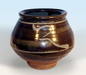 Hamada footed bowl