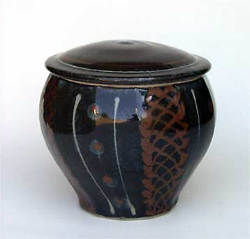 David Frith lidded jar
