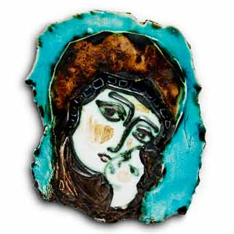 Dworski Madonna plaque II