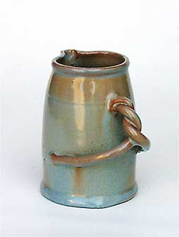 Twisty-handled Dicker jug