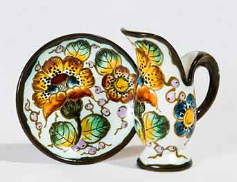 Gouda miniature jug and dish