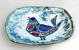Wye bird dish
