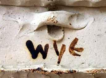 Wye fish plaque (mark)