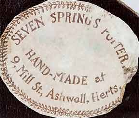 Seven Springs newsvendor (label)