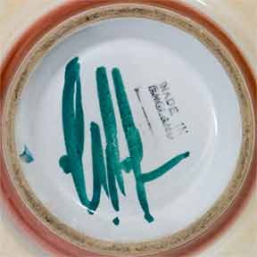 Denby handled shallow bowl II (mark)