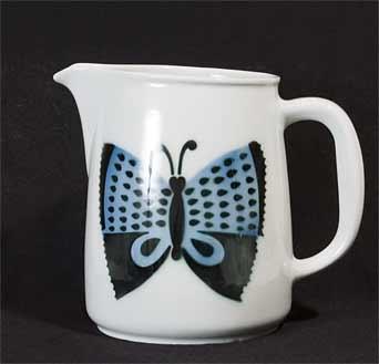 Arabia butterfly jug