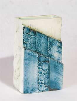 Carn Diagonal Steps vase