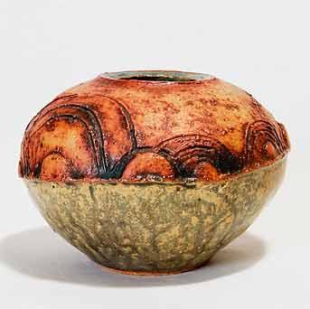 Round squat Rooke pot