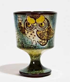 Chelsea owl goblet