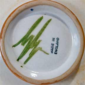 Glyn Colledge dish (mark)