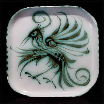 Square Celtic dish II