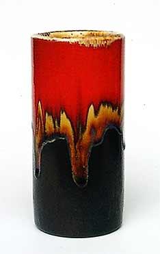 Cylindrical Leaper vase