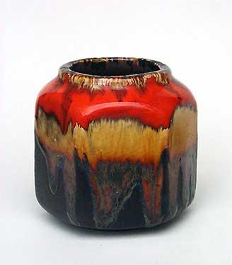 Hexagonal Leaper vase