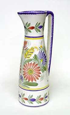 Tall Quimper jug