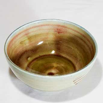 Nic Harrison porcelain bowl (top)