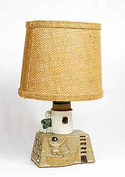 Tremaen lighthouse lamp (back)