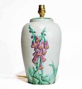 Denby Floral Pastel lamp