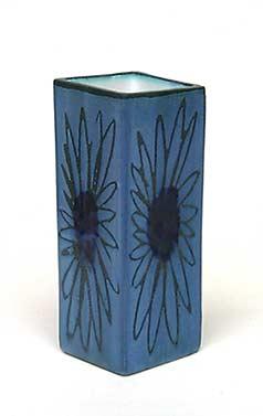 Blue Troika vase II