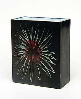 Black Troika vase