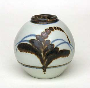 David Leach porcelain vase