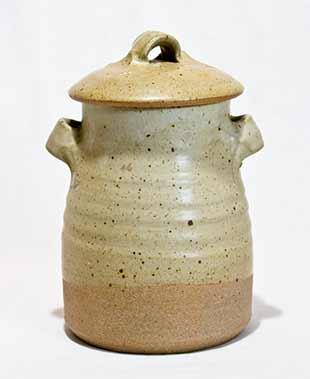 Pearson lidded jar