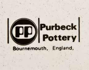 Pair of Purbeck owl plates (mark)