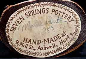 Seven Springs artist (label)