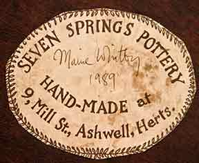 Seven Springs fishmonger (label)