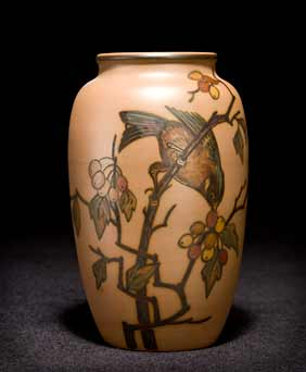Hjorth bird vase II