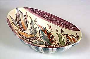 Long Glyn Colledge bowl