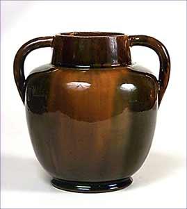 Handled Dunmore vase