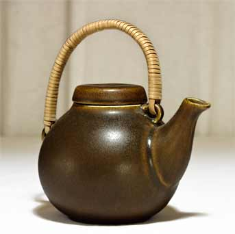 Arabia Ulla Procope brown teapot