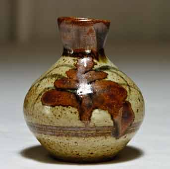 Small Lowerdown bottle vase