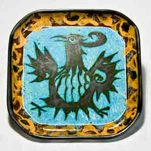 Square Celtic dish III
