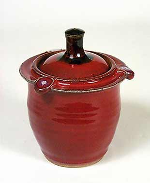 Lidded Saxby pot