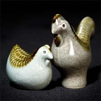Simon Leaper chickens