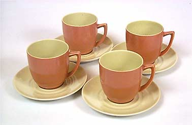 Branksome cups and saucers