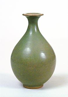 Green Donald Mills vase