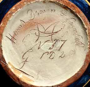 Carlo Manzoni vase (marks)