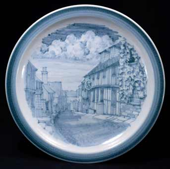 Iden 'Mermaid Inn' plate