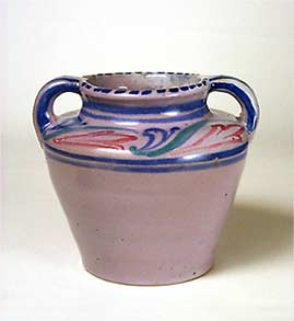 Two-handled Honiton vase