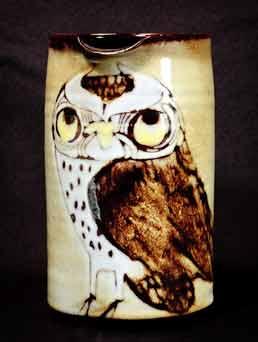 Joyce Morgan owl jug