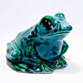 Blue/green Chelsea frog