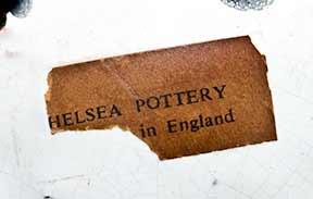 Very large Chelsea dog (label)