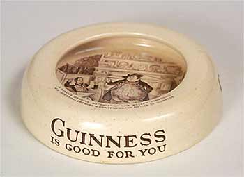 Ashtead Guinness ashtray