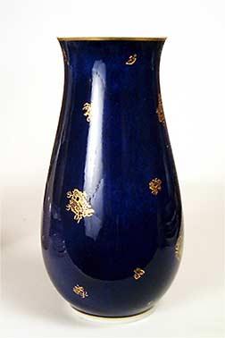 Unusual Copenhagen vase