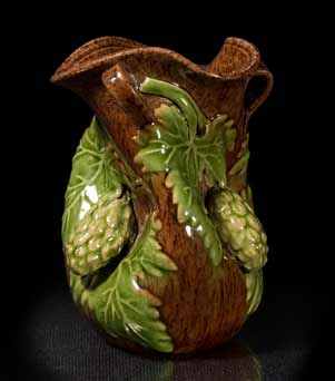 Rye three-handled hop vase
