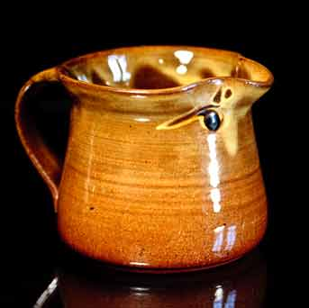 David Leach slipware jug