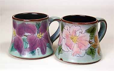 Floral Chelsea mugs